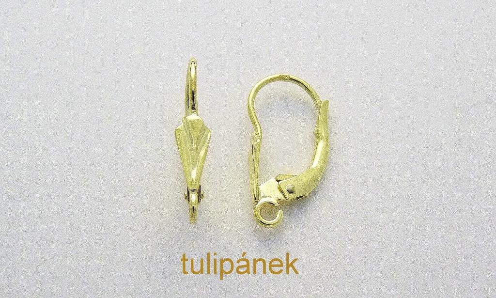 Vršky náušnic – Tulipánek